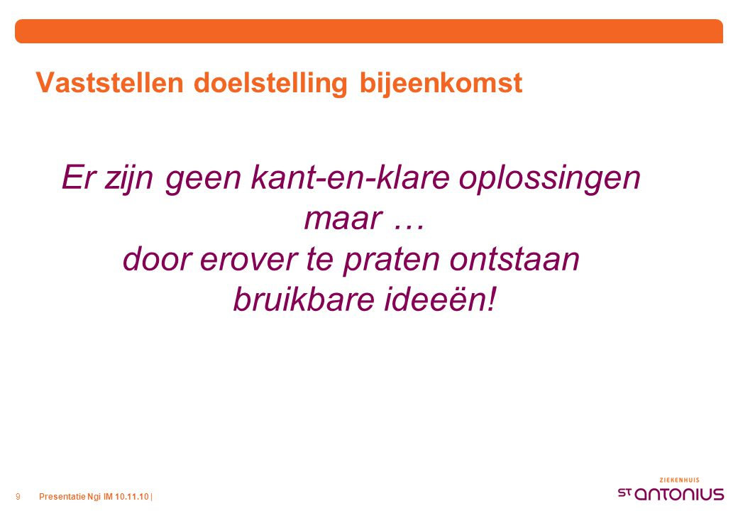 Agenda Casussen UMC Utrecht Inleiding Facts & figures