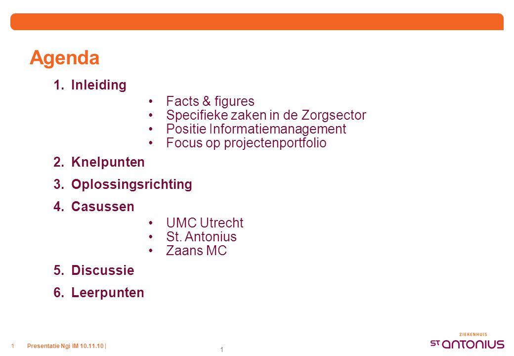 Facts & figues St. Antonius ziekenhuis UMCU Zaans Medisch Centrum