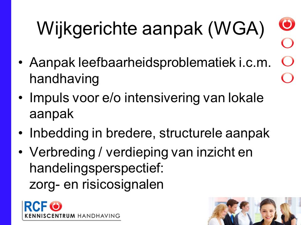 Wijkgerichte aanpak (WGA)