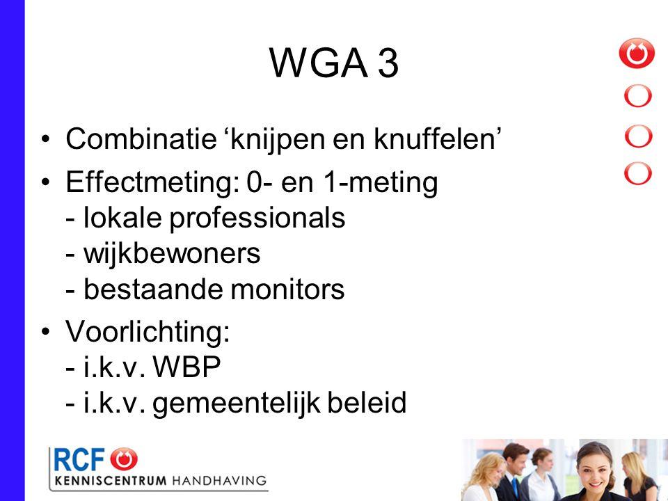 WGA 3 Combinatie 'knijpen en knuffelen'