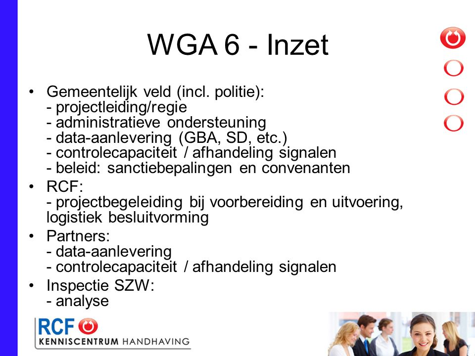 WGA 6 - Inzet