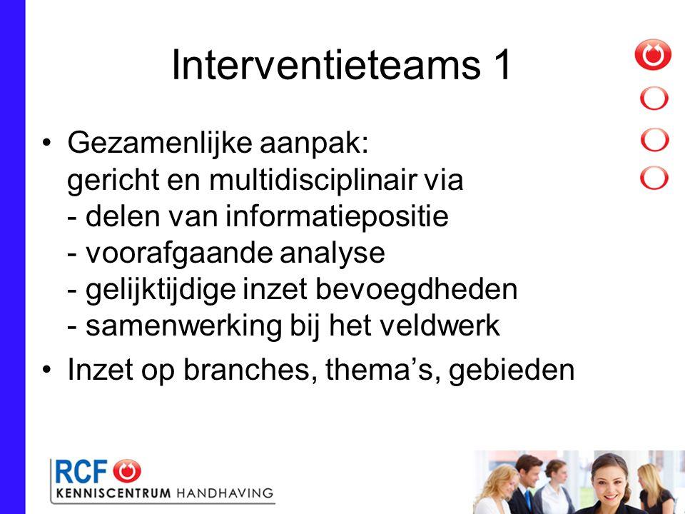 Interventieteams 1