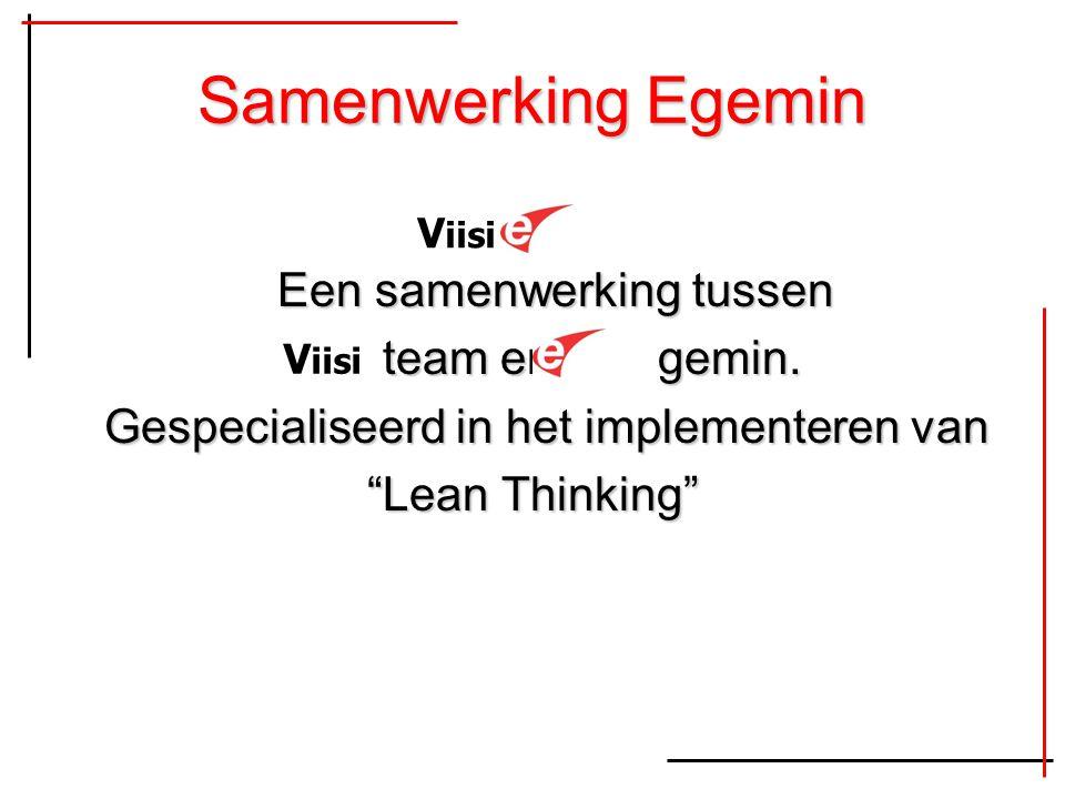 Samenwerking Egemin Een samenwerking tussen team en gemin.