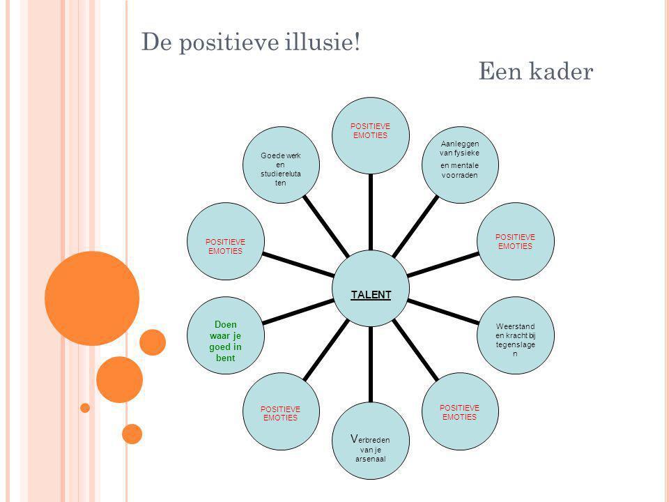 De positieve illusie! Een kader