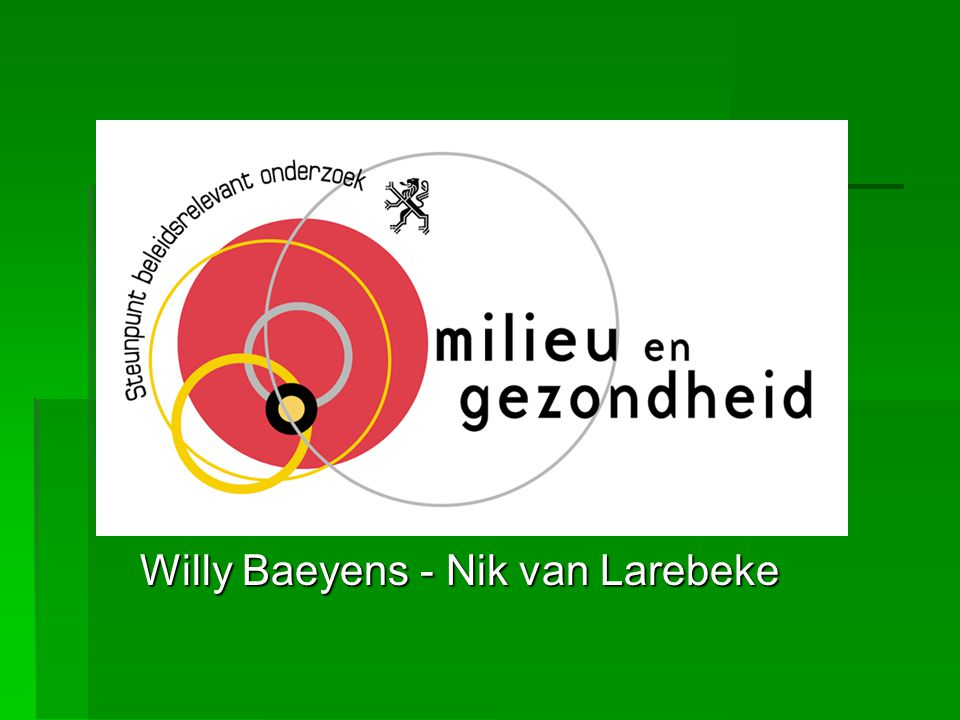 Willy Baeyens - Nik van Larebeke