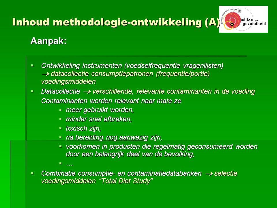 Inhoud methodologie-ontwikkeling (A)