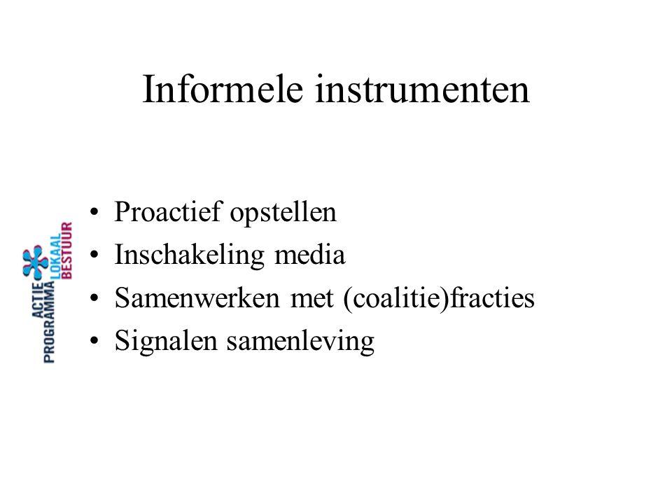 Informele instrumenten
