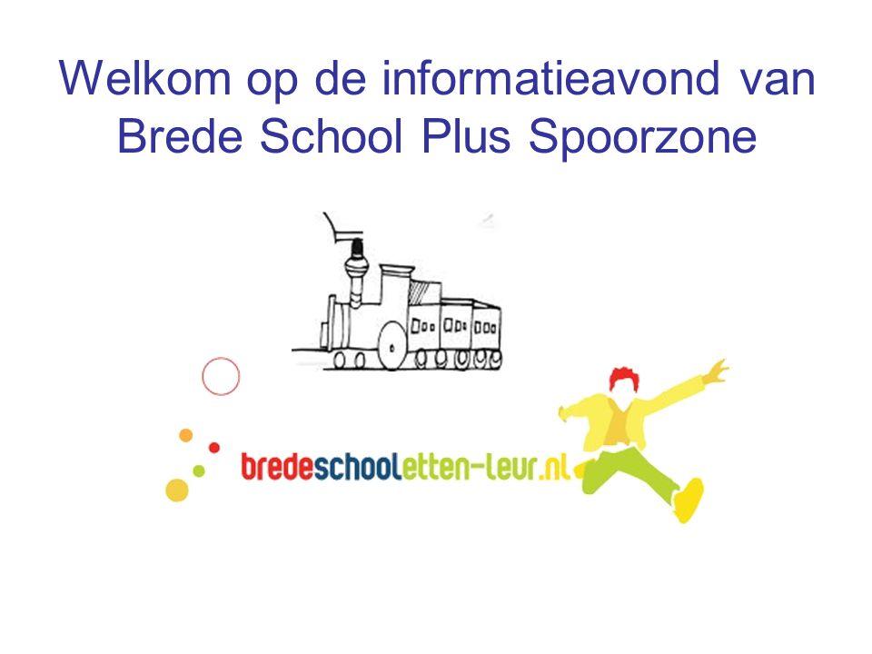 Welkom op de informatieavond van Brede School Plus Spoorzone