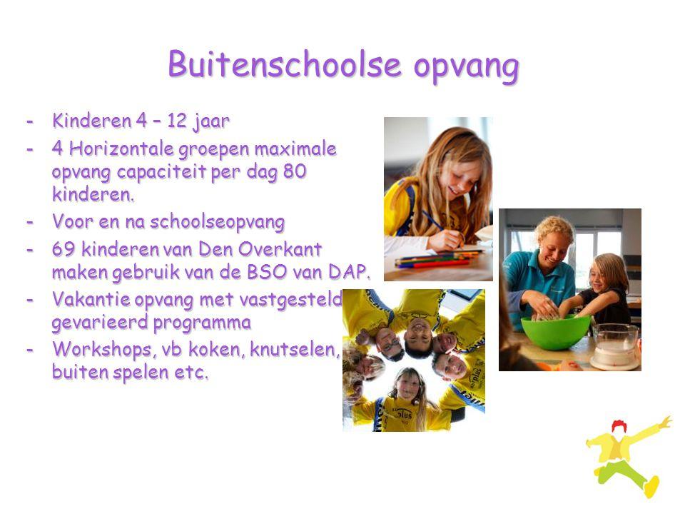 Buitenschoolse opvang