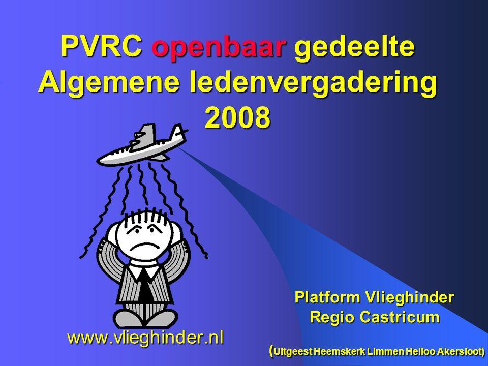 PVRC openbaar gedeelte Algemene ledenvergadering 2008