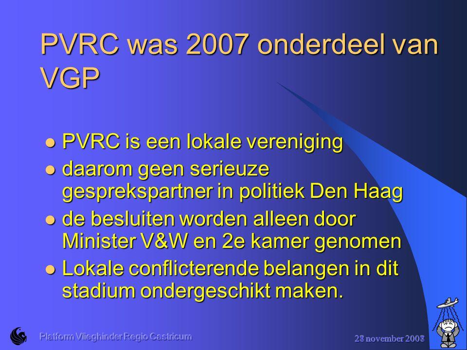 PVRC was 2007 onderdeel van VGP