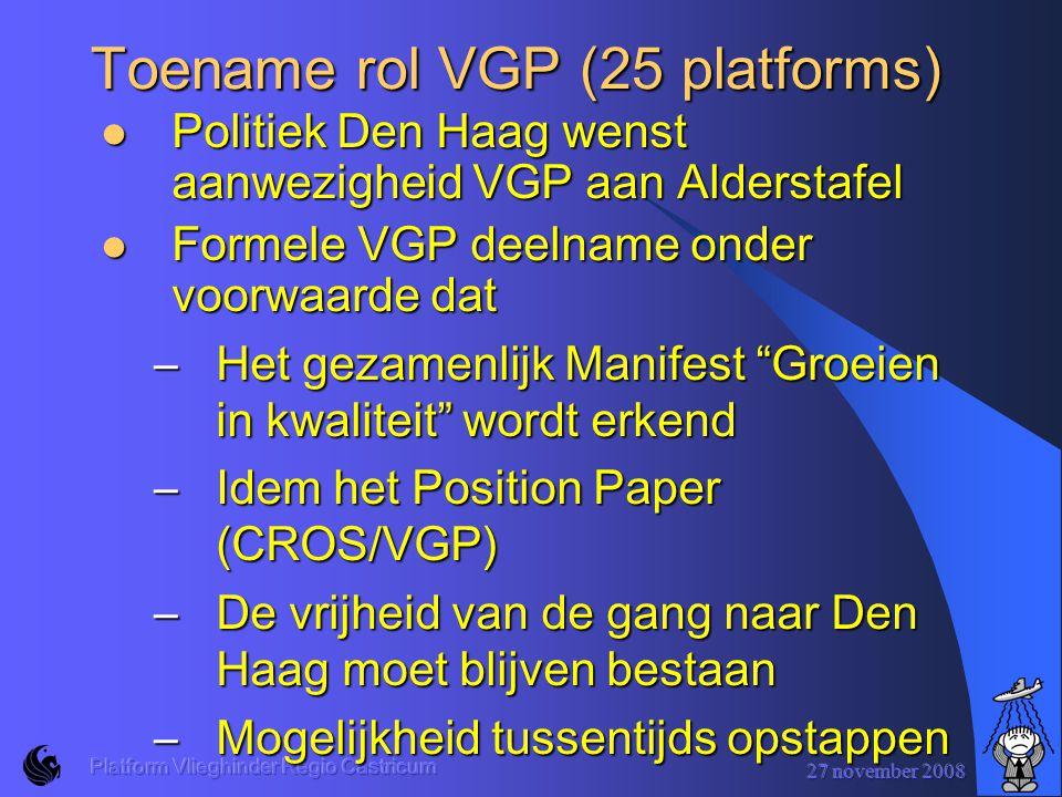 Toename rol VGP (25 platforms)