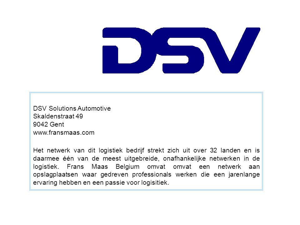 DSV Solutions Automotive
