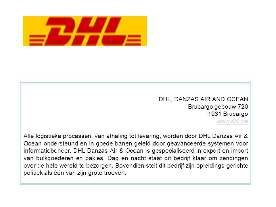 DHL, DANZAS AIR AND OCEAN