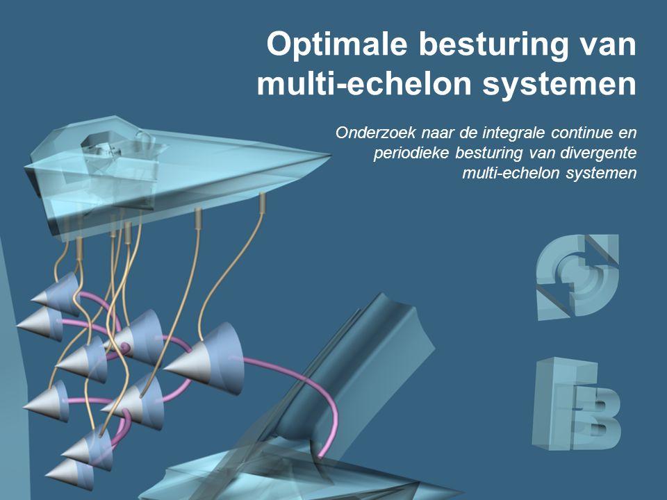 Titel Optimale besturing van multi-echelon systemen
