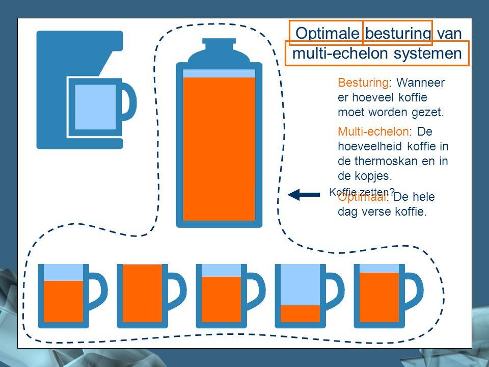 Koffie Optimale besturing van multi-echelon systemen