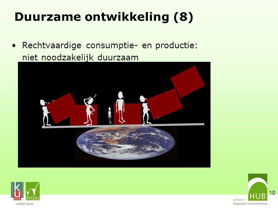 Duurzame ontwikkeling (8)