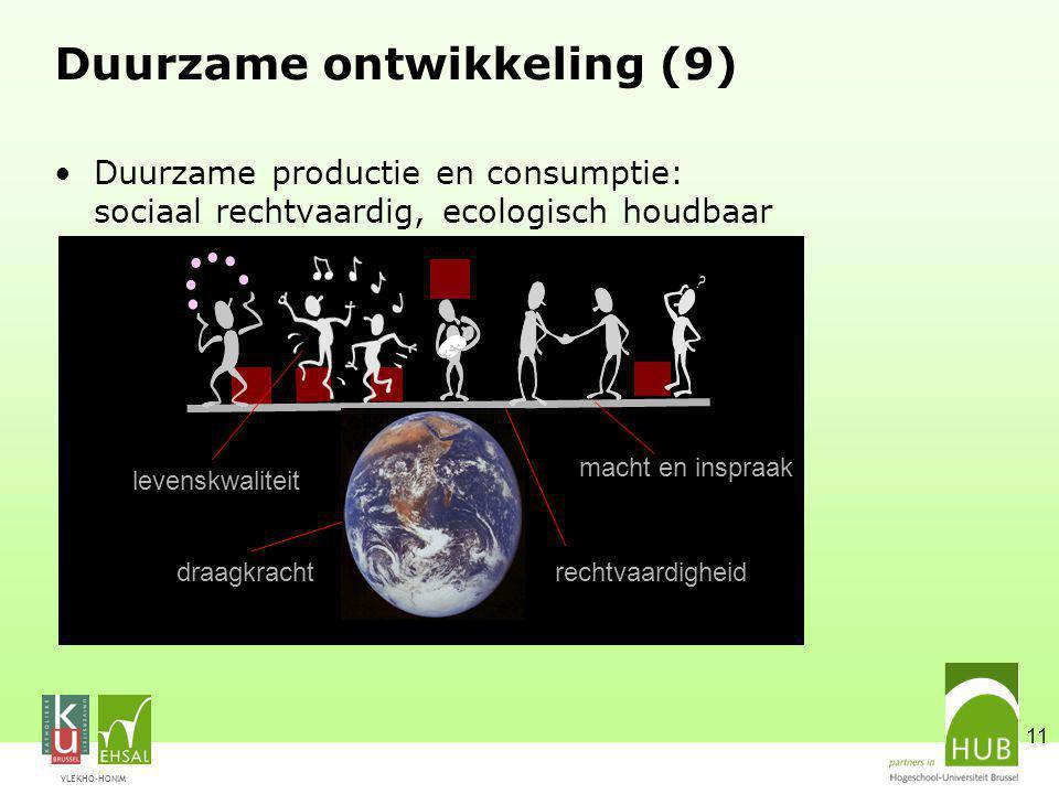 Duurzame ontwikkeling (9)