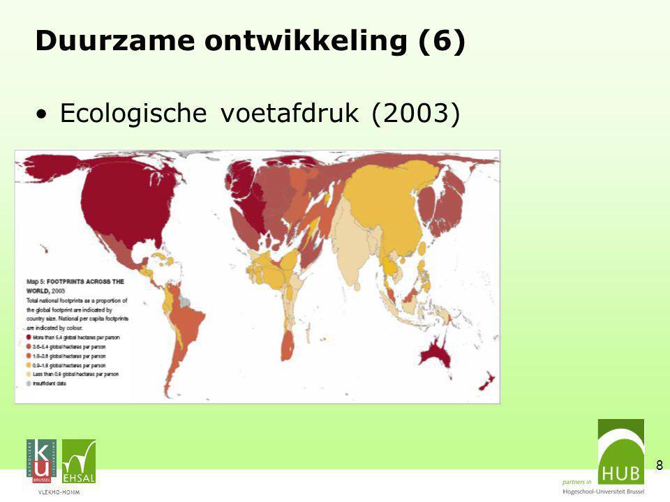 Duurzame ontwikkeling (6)