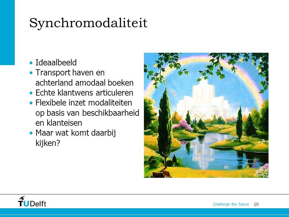 Synchromodaliteit Ideaalbeeld