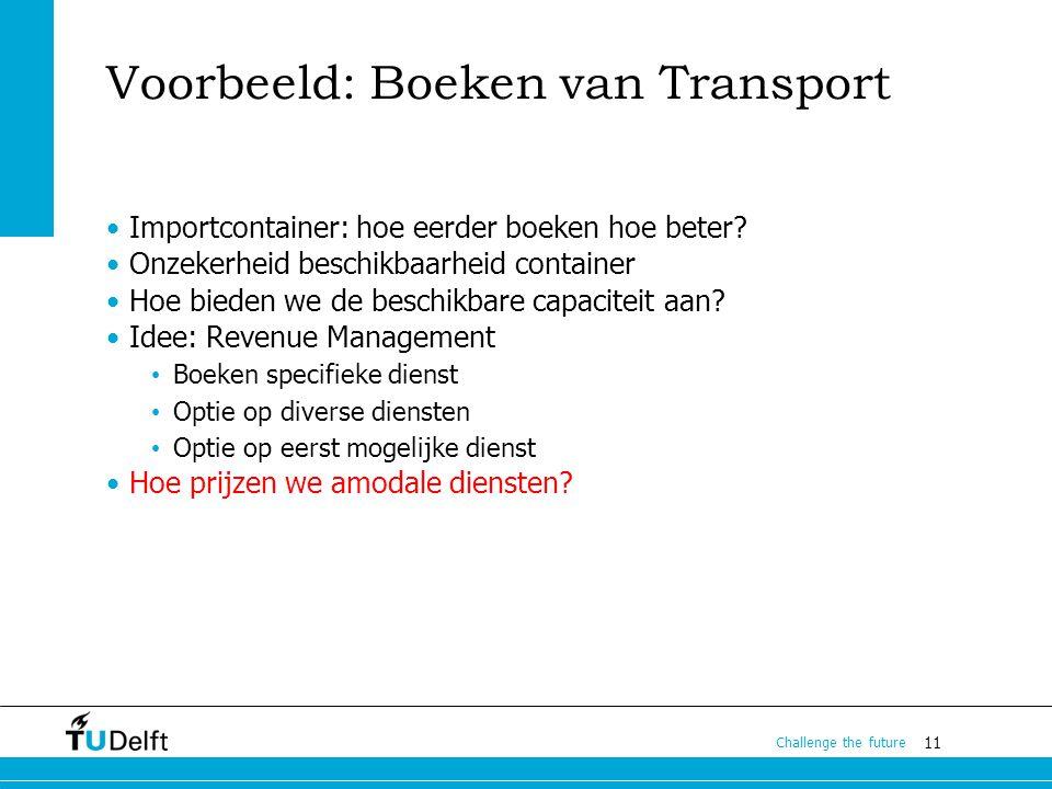Voorbeeld: Boeken van Transport