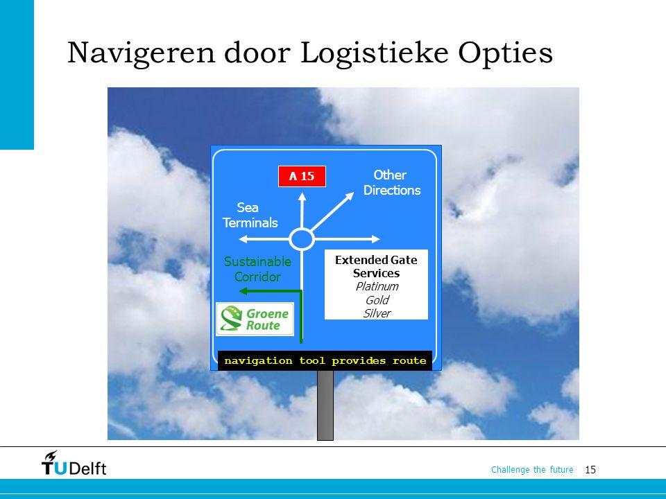 Navigeren door Logistieke Opties