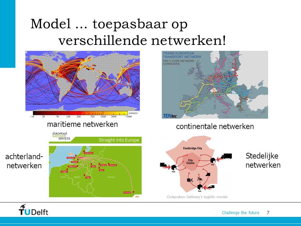 Model ... toepasbaar op verschillende netwerken!