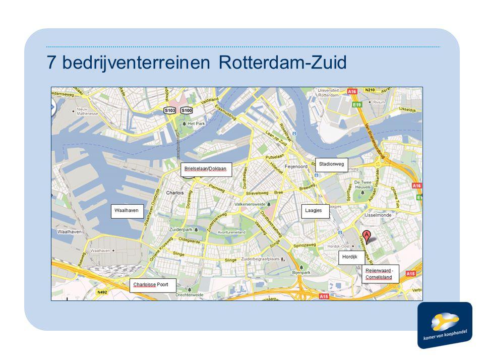 7 bedrijventerreinen Rotterdam-Zuid