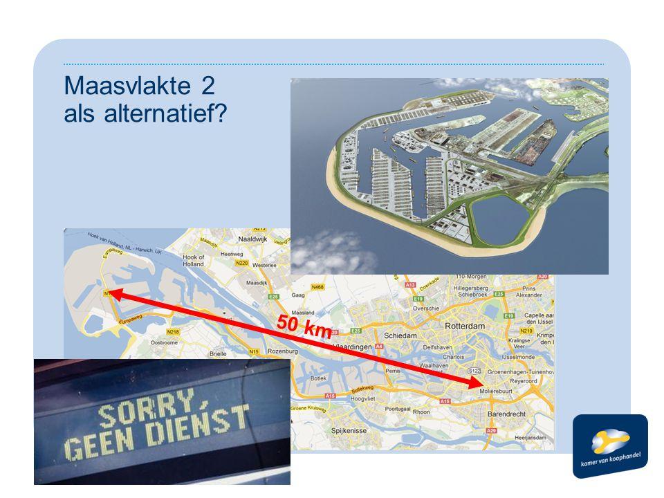 Maasvlakte 2 als alternatief