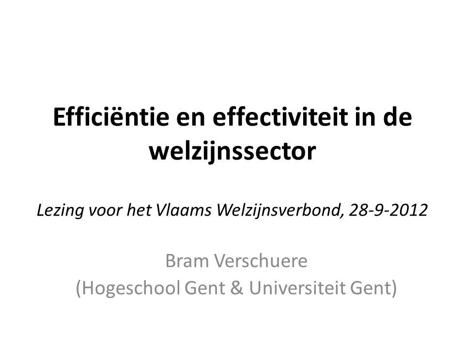 Bram Verschuere (Hogeschool Gent & Universiteit Gent)