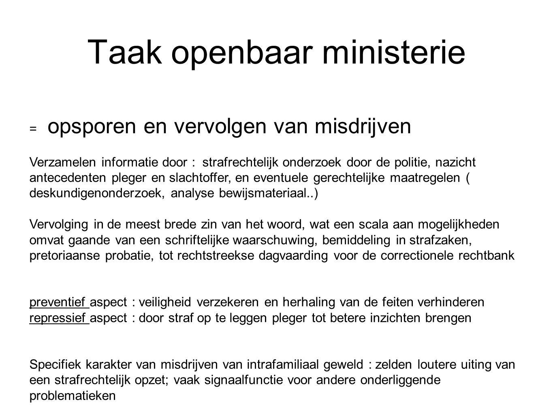Taak openbaar ministerie