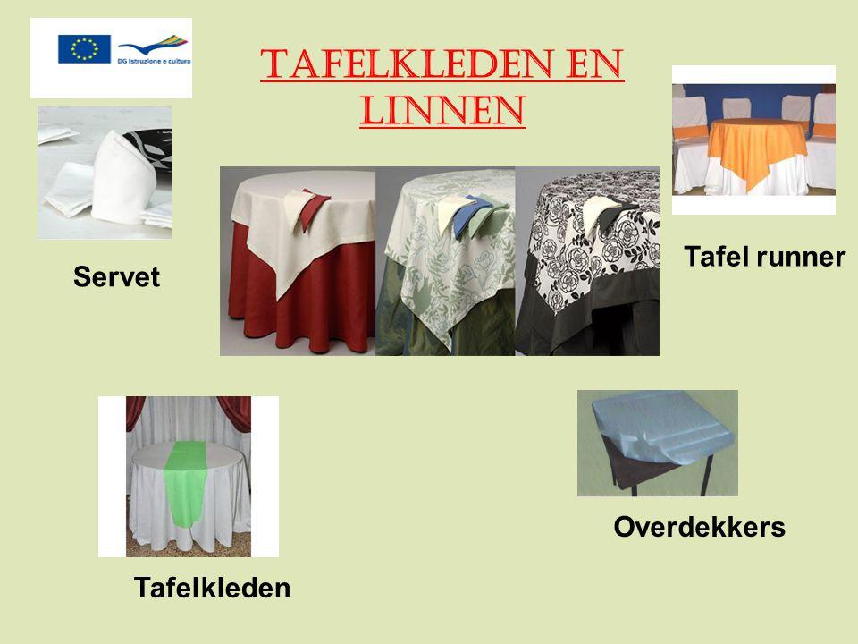 Tafelkleden en Linnen Tafel runner Servet Overdekkers Tafelkleden