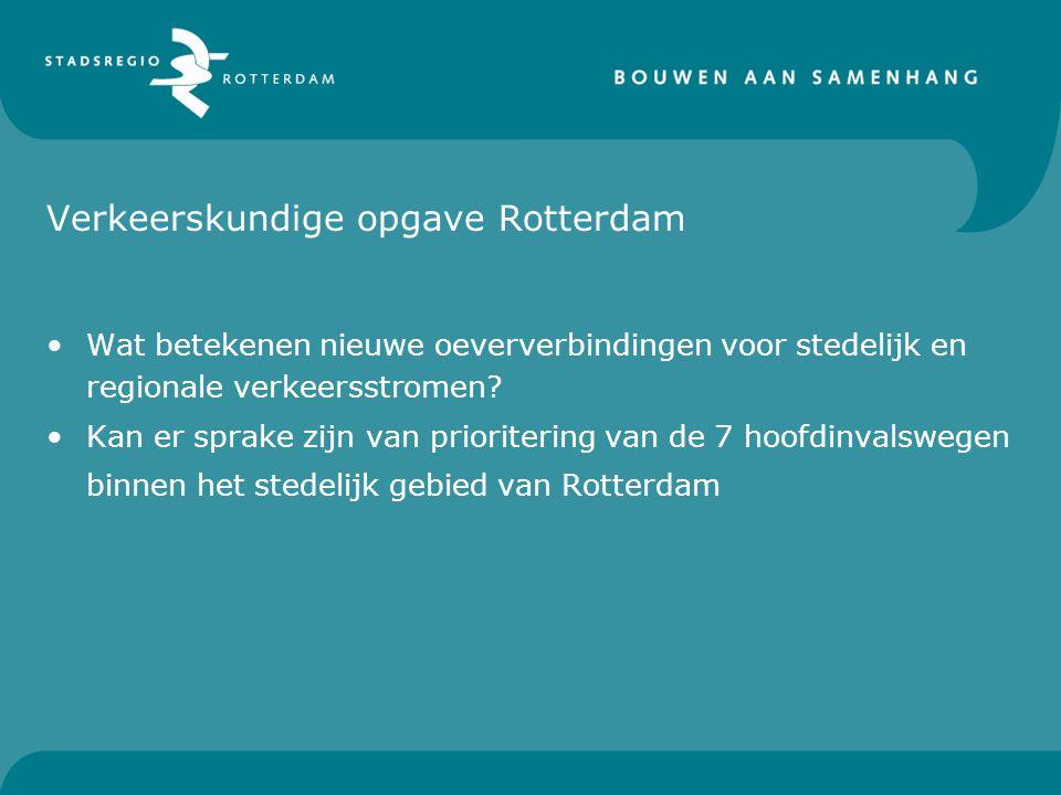 Verkeerskundige opgave Rotterdam