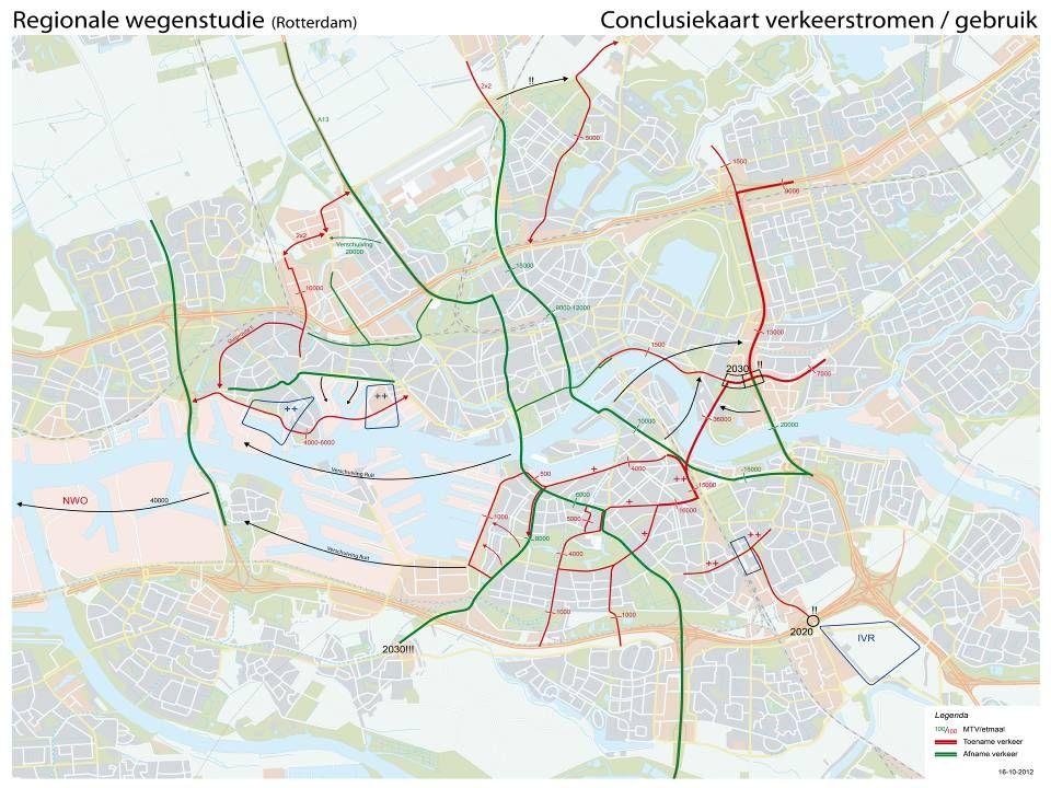 Conclusiekaart Rotterdam