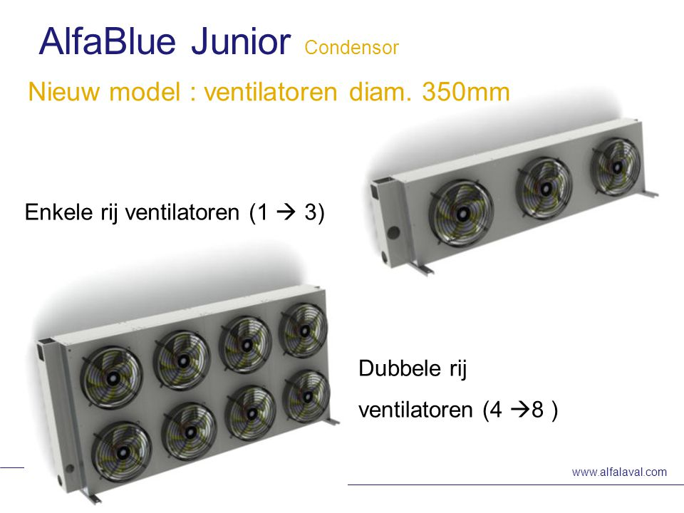 AlfaBlue Junior Condensor