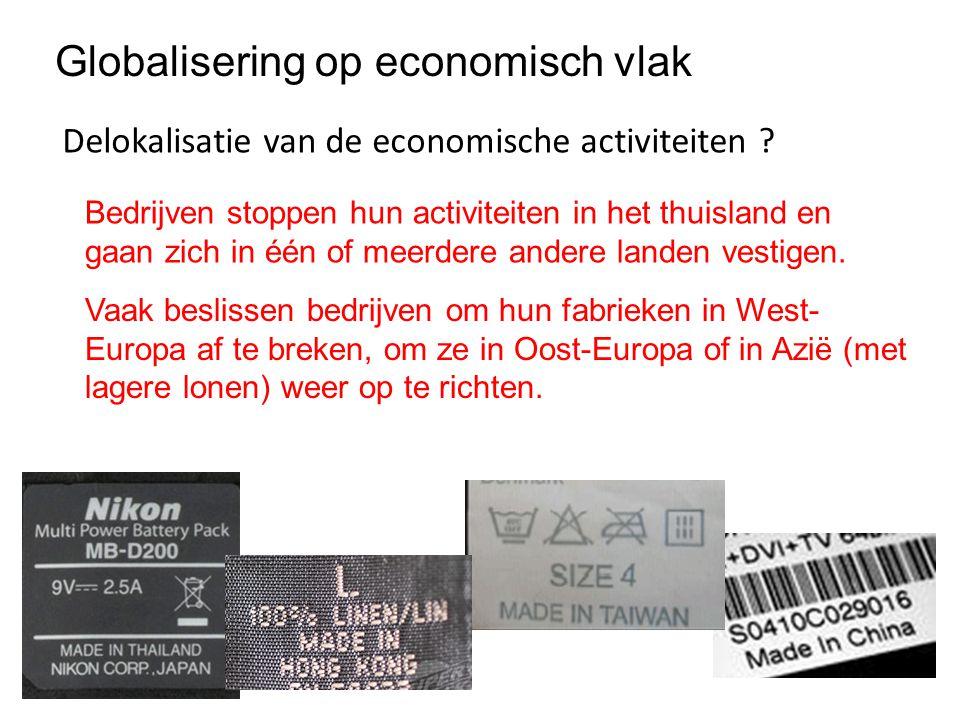 Globalisering op economisch vlak