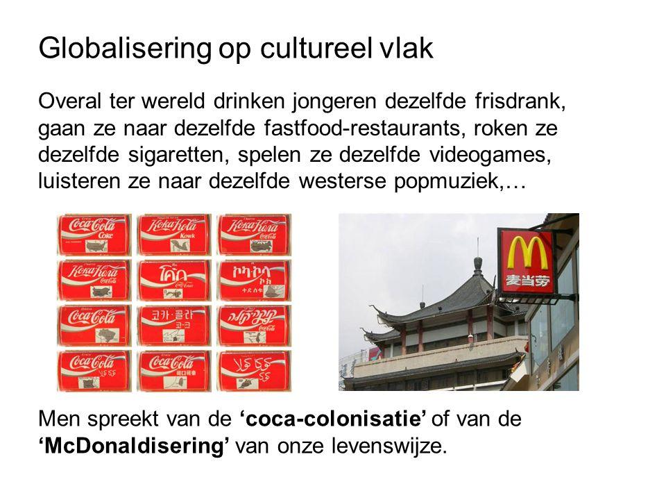 Globalisering op cultureel vlak