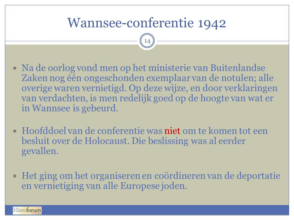 Wannsee-conferentie 1942