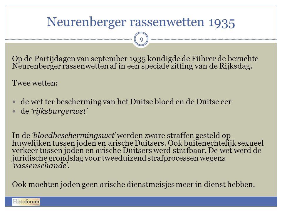 Neurenberger rassenwetten 1935