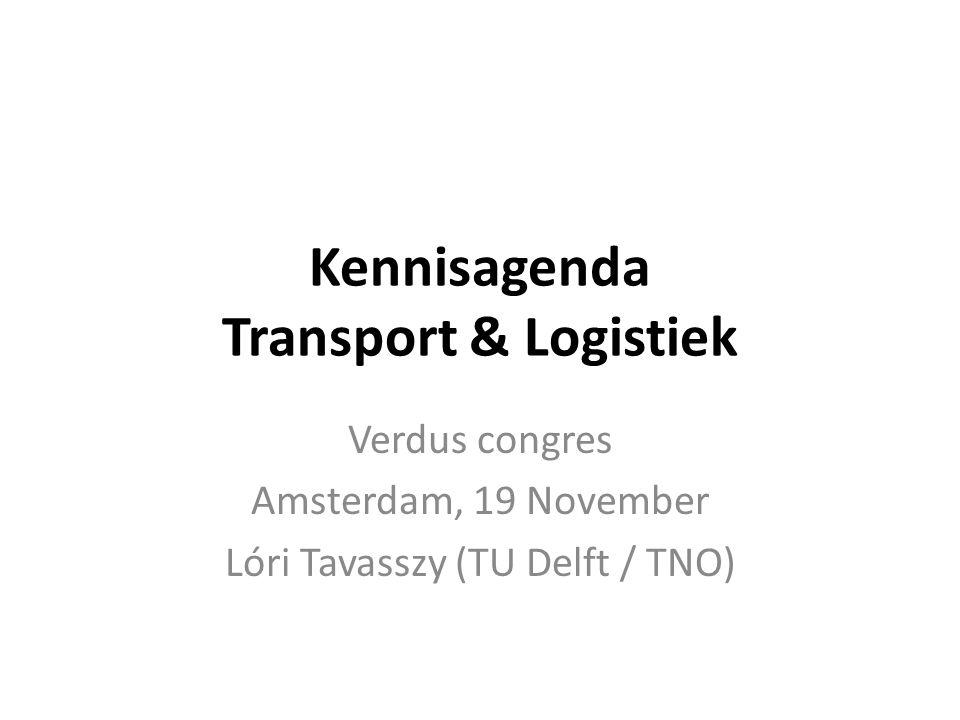 Kennisagenda Transport & Logistiek