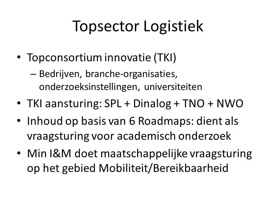 Topsector Logistiek Topconsortium innovatie (TKI)