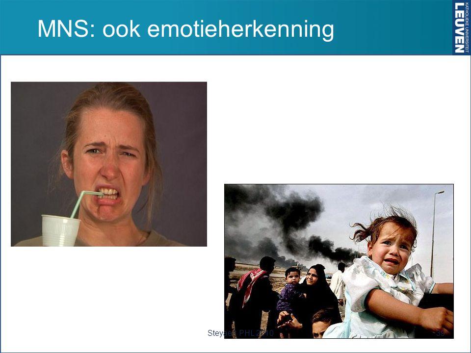 MNS: ook emotieherkenning