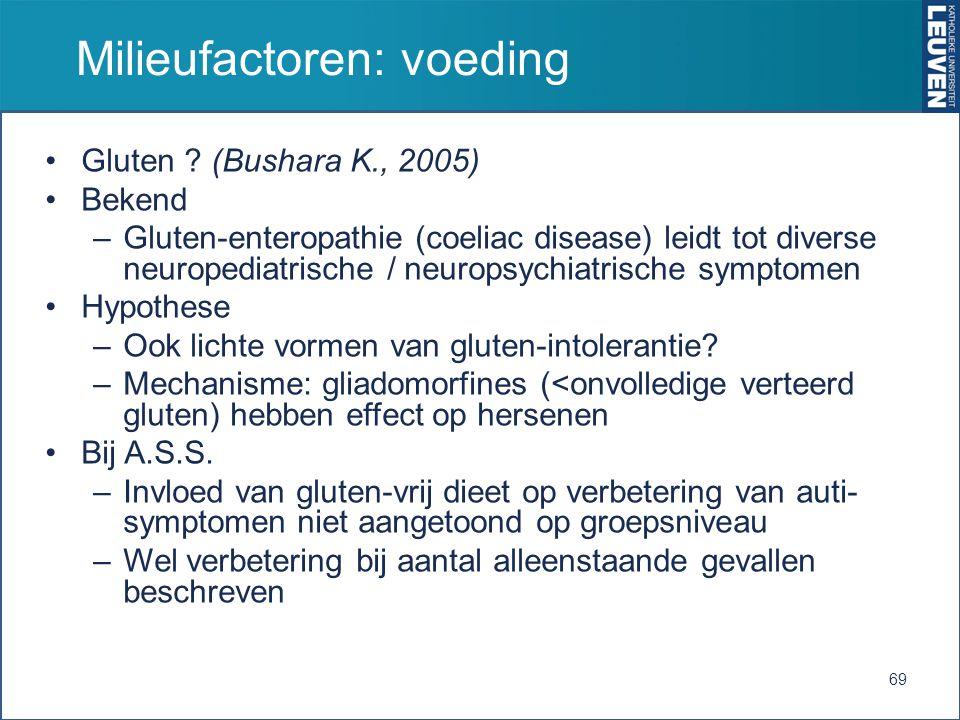 Milieufactoren: voeding