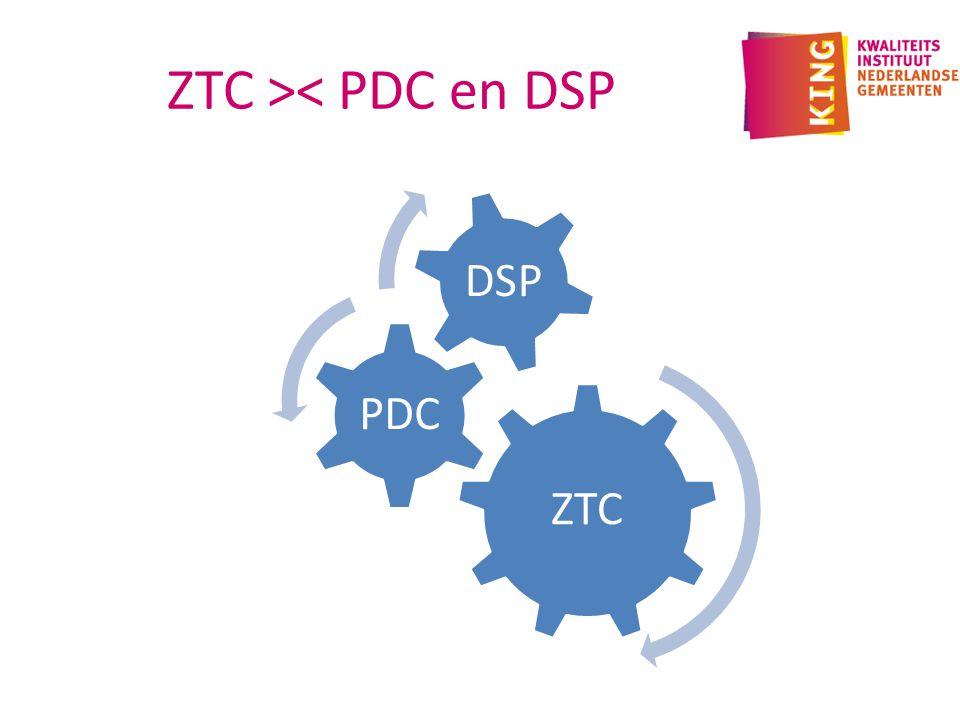 ZTC >< PDC en DSP ZTC PDC DSP