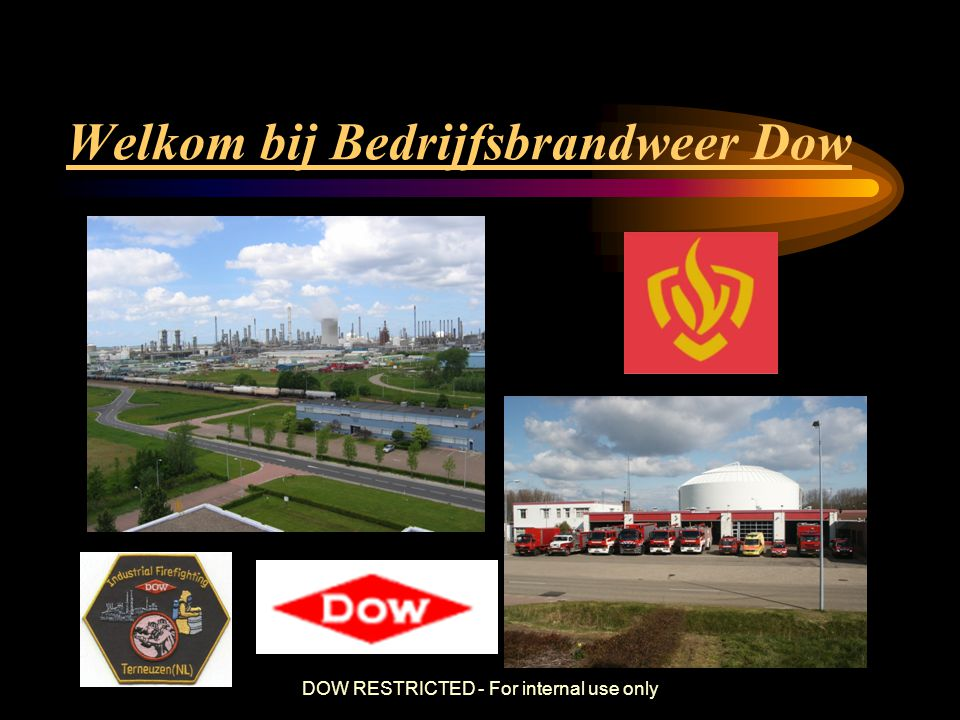 Welkom bij Bedrijfsbrandweer Dow