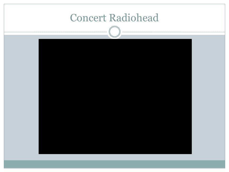 Concert Radiohead