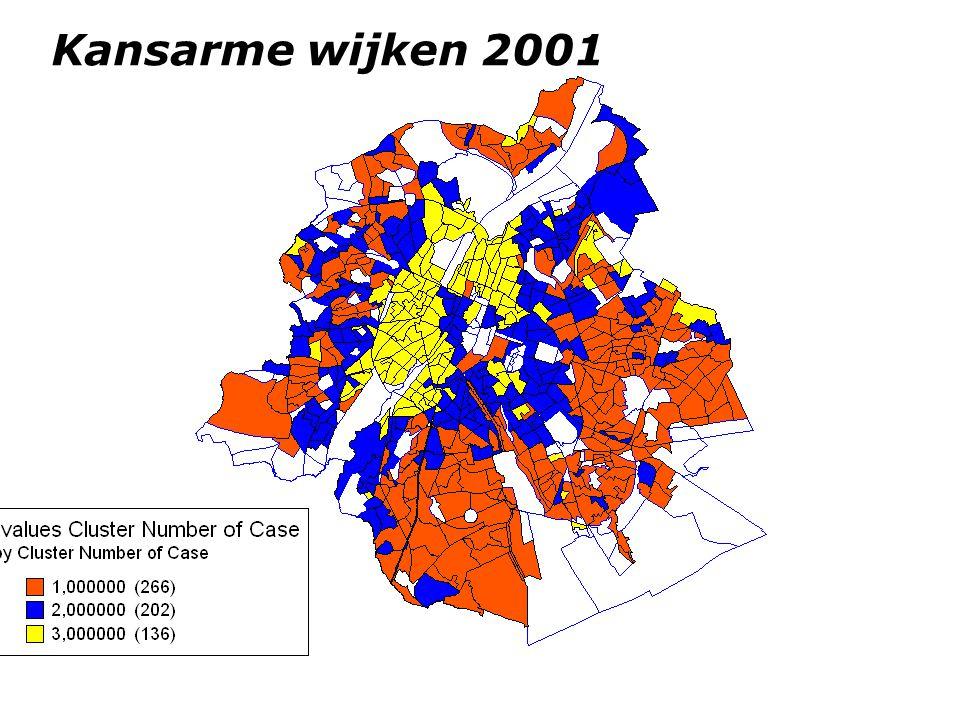 Kansarme wijken 2001