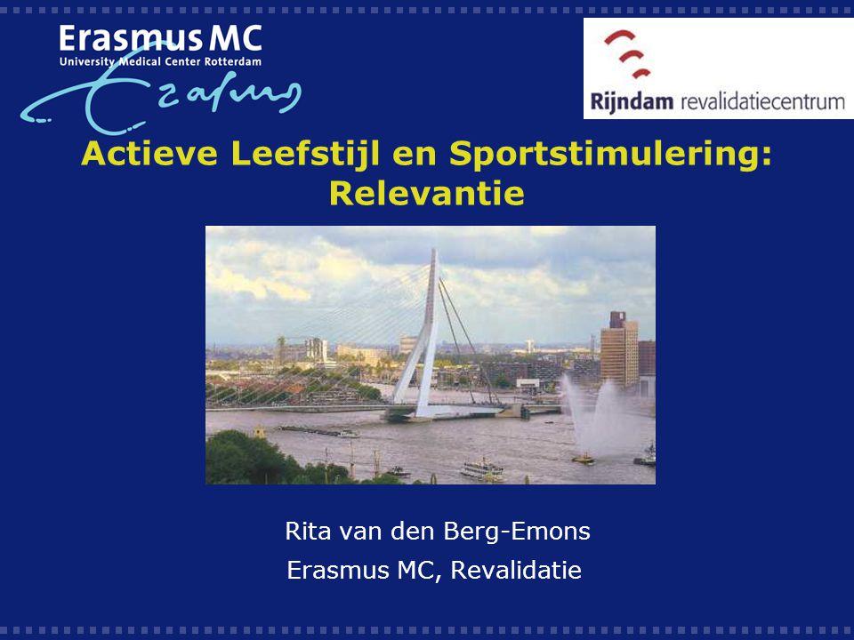 Actieve Leefstijl en Sportstimulering: Relevantie
