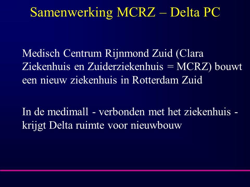 Samenwerking MCRZ – Delta PC