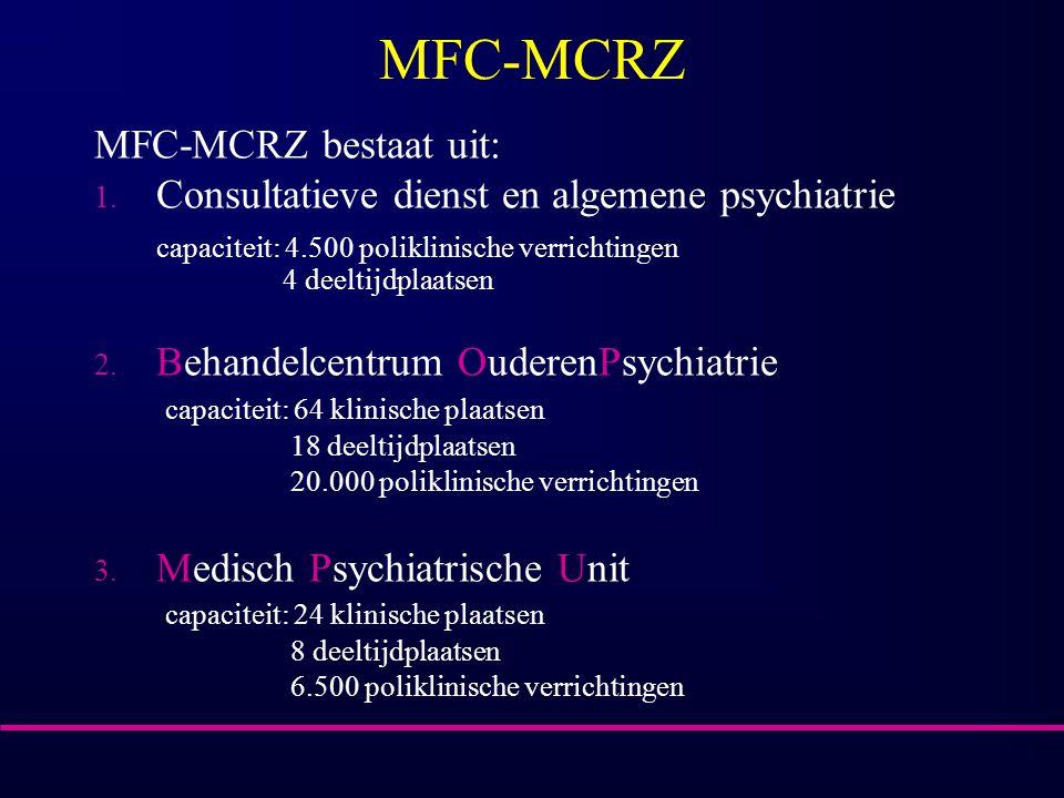 MFC-MCRZ MFC-MCRZ bestaat uit:
